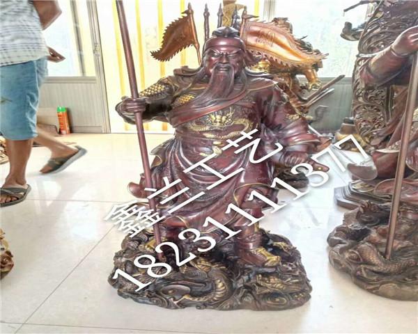 铸铁关公——金铜佛像