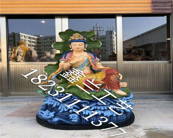 铸铜文殊菩萨铜雕佛像