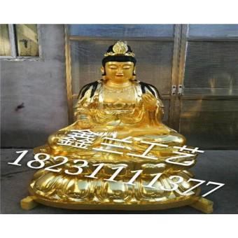 铸铜观音菩萨——玻璃钢雕塑铜雕佛像金铜佛像