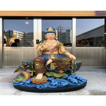 铸铜文殊菩萨——玻璃钢雕塑铜雕佛像