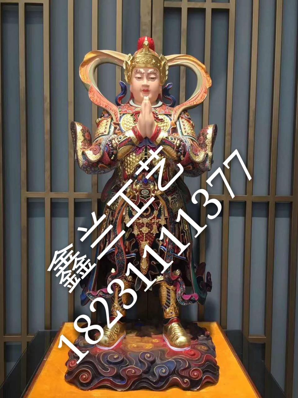 雕塑铜雕----铜雕韦陀菩萨