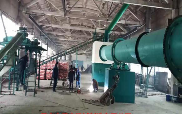 陶粒机械国外安装现场