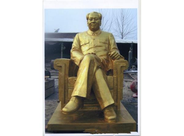 主席铜像_毛泽东主席