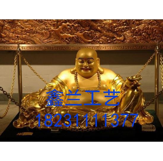 铜佛像弥勒佛像