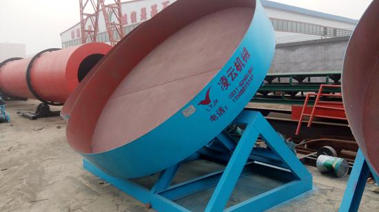 有機肥圓盤造粒機