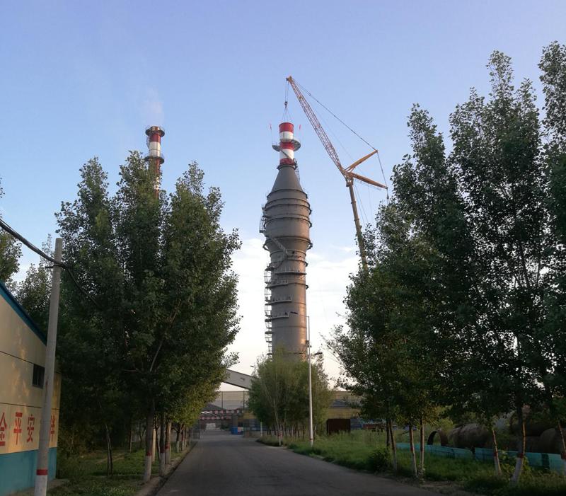石家庄宇清环保科技有限公司超低排放示范项目