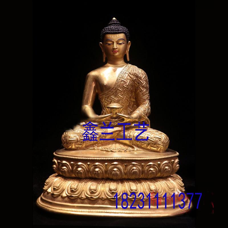 藏传佛像阿弥陀佛、释迦摩尼佛、药师佛、弥勒佛