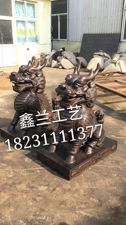 麒麟是中国人熟悉的吉祥瑞兽--麒麟阁  麒麟台