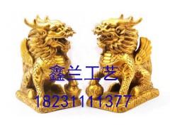 铜麒麟雕塑颐和园里面都有哪几处 雕塑资讯 铜狮子 麒麟厂家 青铜麒麟