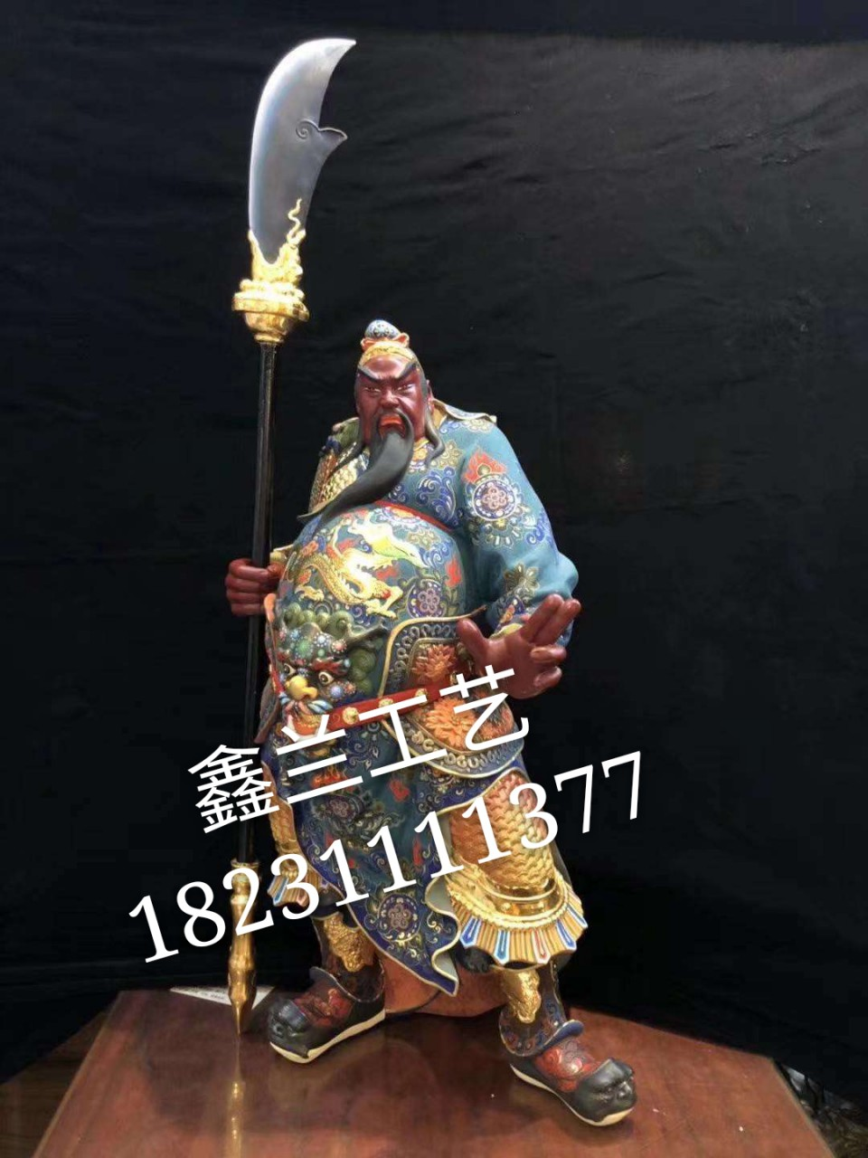 武财神是关羽还是赵公明 铜雕级彩武财神 专业生产武财神厂家