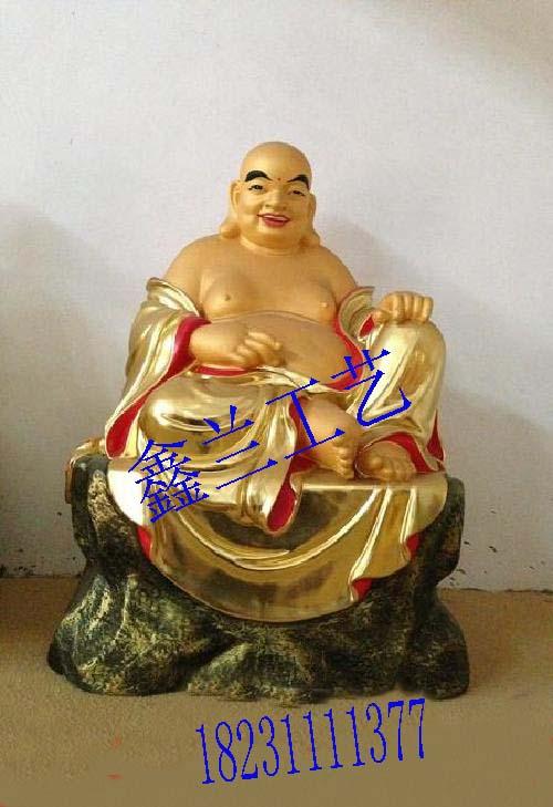 弥勒佛弥勒佛-世界最大的笑佛布袋和尚弥勒佛 弥勒铜佛像玻璃钢雕塑