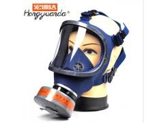1011-D单滤罐防毒面具全面罩