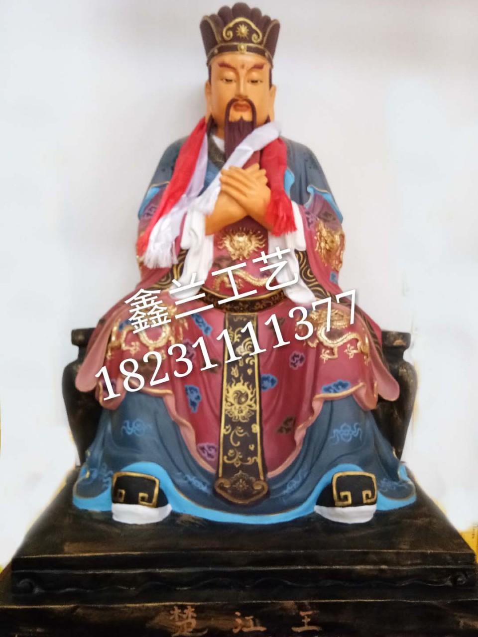江楚王的有一招恐怖的技能铜雕佛像