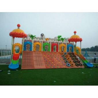阳原幼儿园塑胶地面