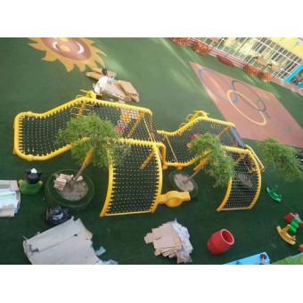 巨鹿幼儿园丛林拓展