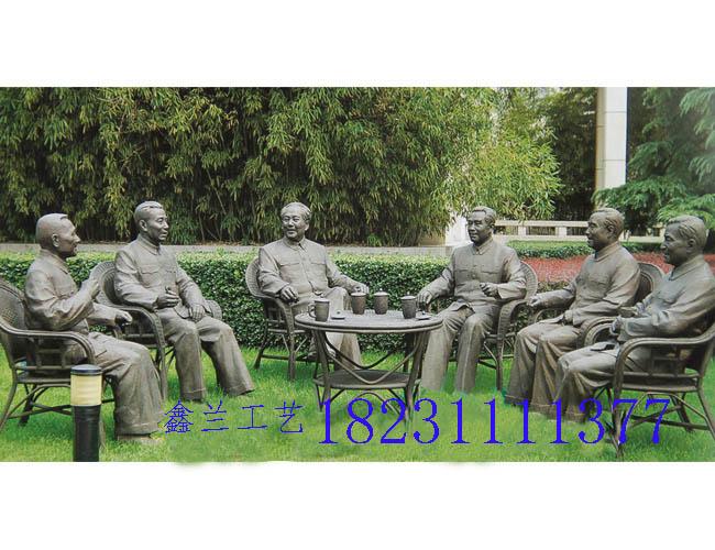 伟人铜雕像之祖国的春天铜雕塑