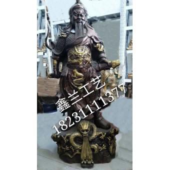 关公铜雕,关帝铜雕,铸铜关二爷雕塑、关公铜雕厂家价格