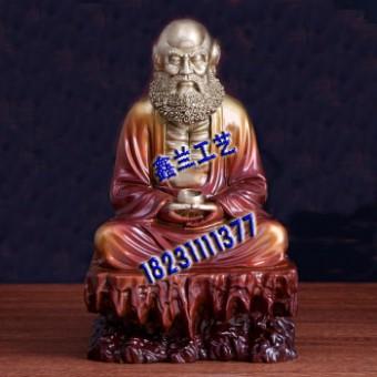 铸铜摩祖师佛像图片,金铜达摩祖师佛像介绍,铜雕达摩祖师佛像