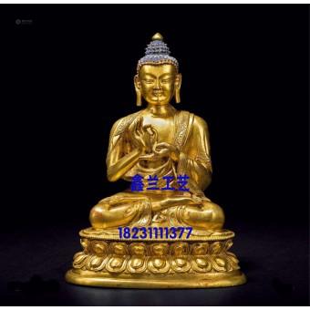 中式传统佛像雕塑燃灯佛雕塑铜雕铸铜雕塑人物雕塑大型寺庙工艺品
