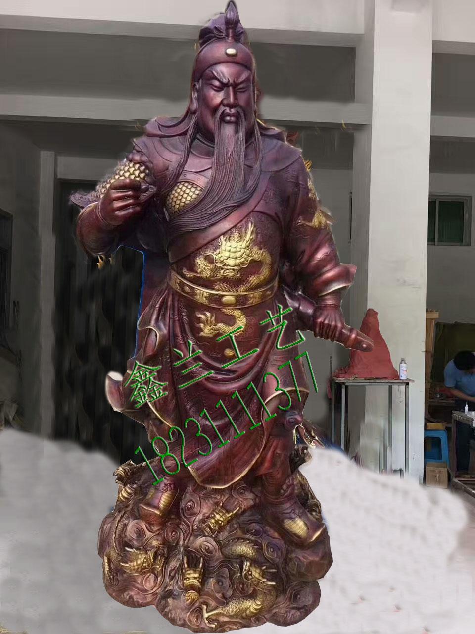 金铜铸造地藏王菩萨铜雕地藏王菩萨玻璃钢地藏王菩萨