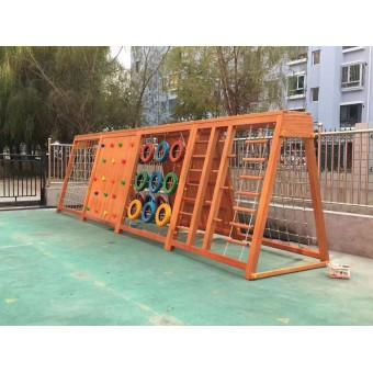 藁城幼儿园组合木质攀爬架