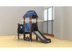 河北云霞游乐设备塑木滑梯新品