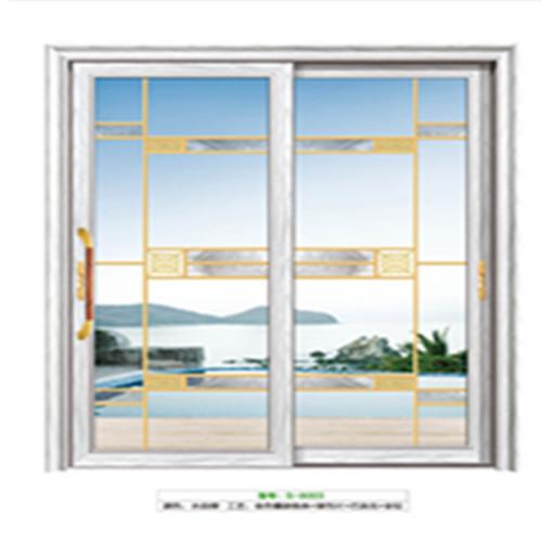 推拉門門板為玻璃板。