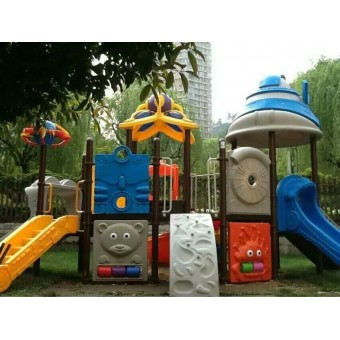 高邑幼儿园大型组合滑梯