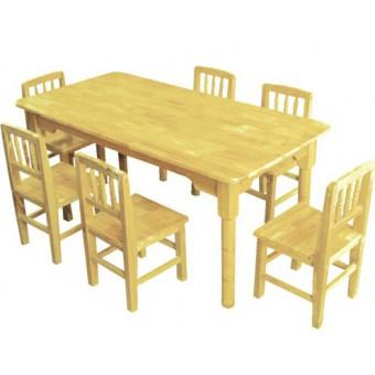 望都幼儿园木制桌椅