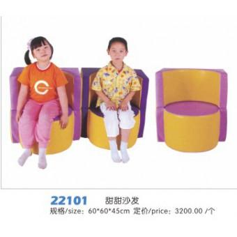 河北云霞游乐软包组合22101