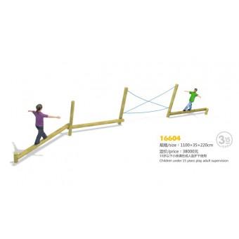 河北云霞游乐设备户外平衡木系列16604
