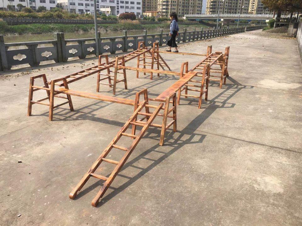 磁县幼儿园木制体能训练