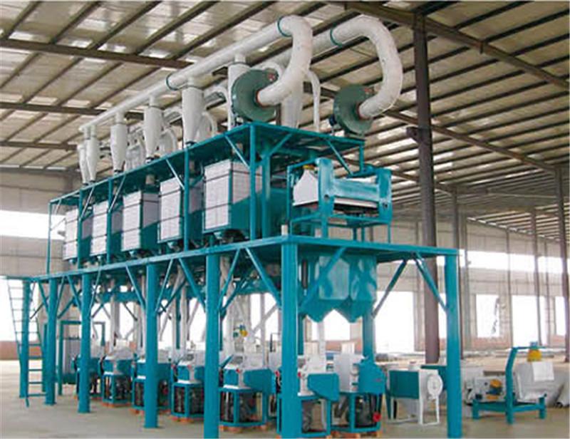 中型80噸面粉機械