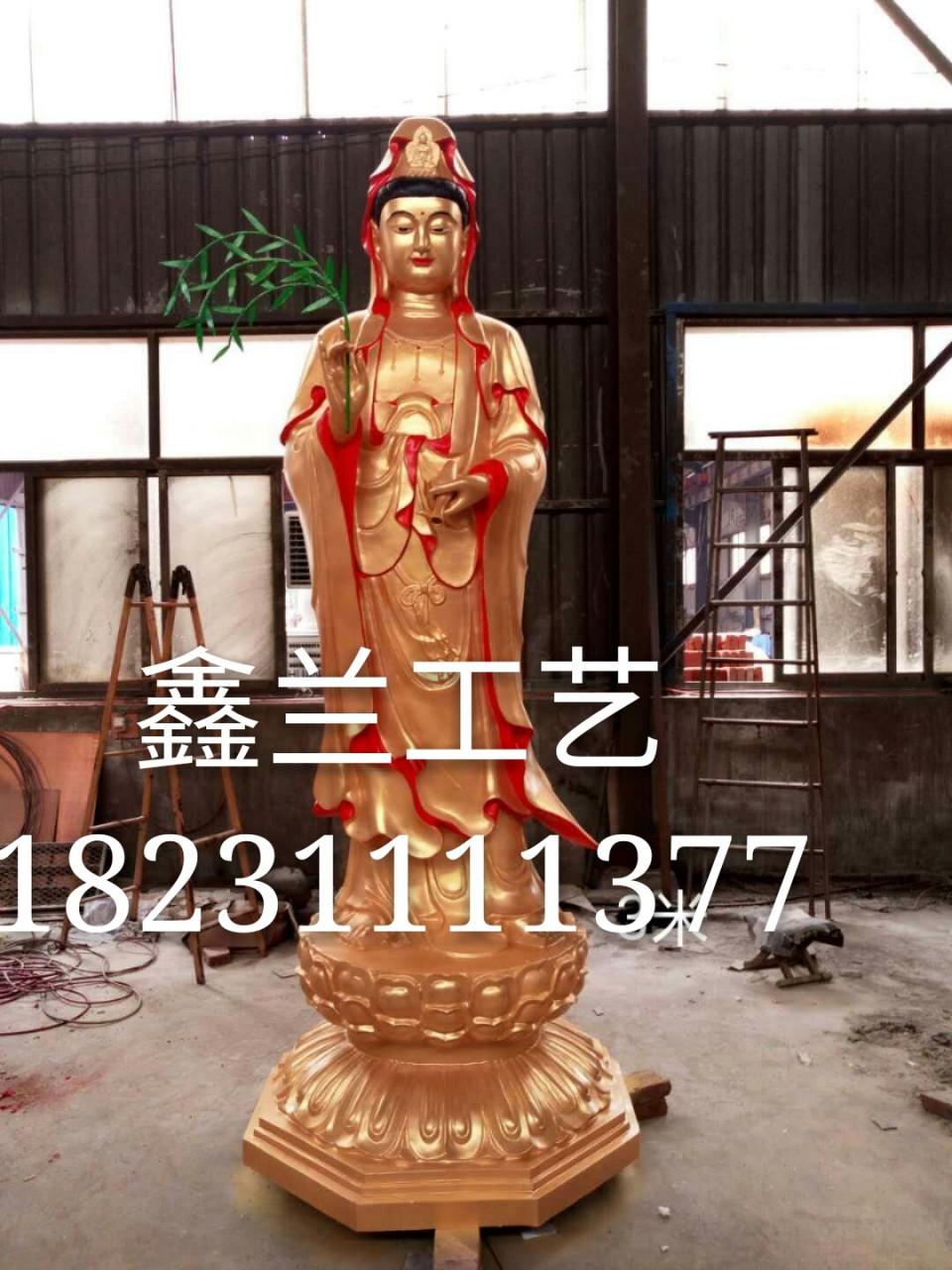 铸铜观音菩萨雕塑金铜观音菩萨雕塑铜雕佛像彩绘贴真金 三十三观音五大观音佛像类型