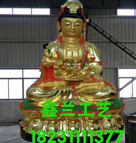 铜雕送子观音菩萨送子观音菩萨铜佛像杭州送子观音菩萨
