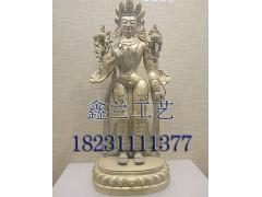 铜雕佛像上的铜锈如何清除藏传铜雕弥勒佛