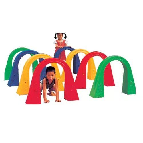 肥乡幼儿园钻山洞