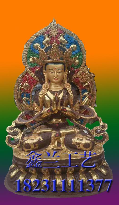 铜雕佛像四壁观音大型铸铜观音 铸铜观音 大型铸铜观音价格