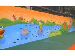 宁晋幼儿园攀岩墙