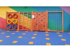 曲阳幼儿园木制攀爬架