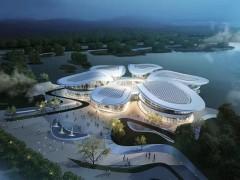 贵州安顺娄湖文化中心