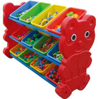 元氏幼儿园玩具归类架