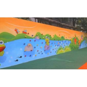 藁城幼儿园攀岩墙