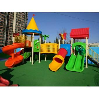 天津幼儿园大型组合滑梯设计安装
