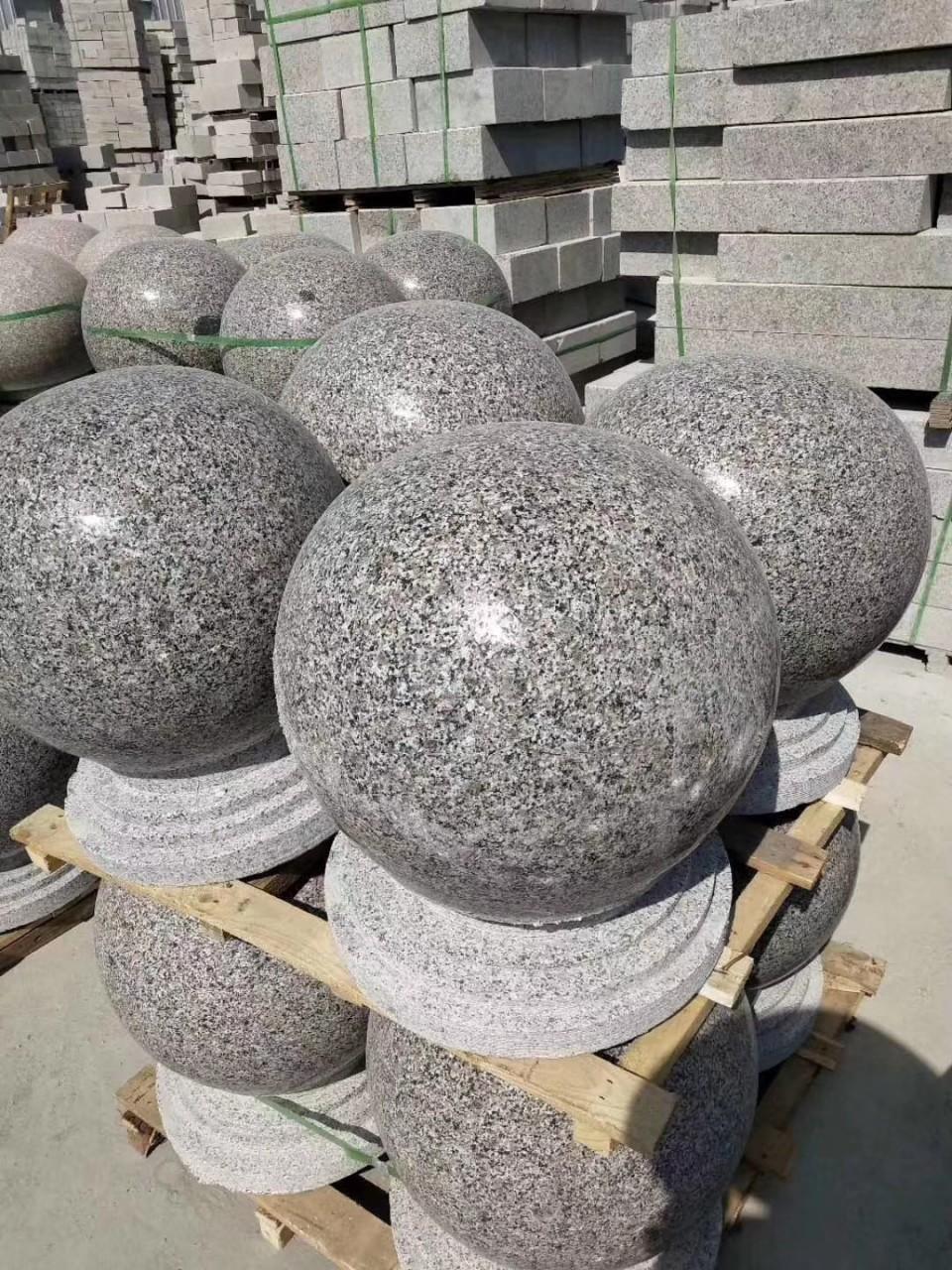 挡车球石雕石材如何保护使其不受损害影响雕刻