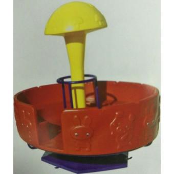 易县幼儿园蘑菇大转椅