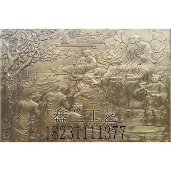 铜雕浮雕锻铜工艺品铜雕塑的制作流程
