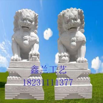 铜雕狮子石雕狮子汉白玉石狮子青石寺庙狮子雕塑