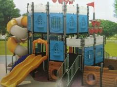 赞皇幼儿园大型组合滑梯