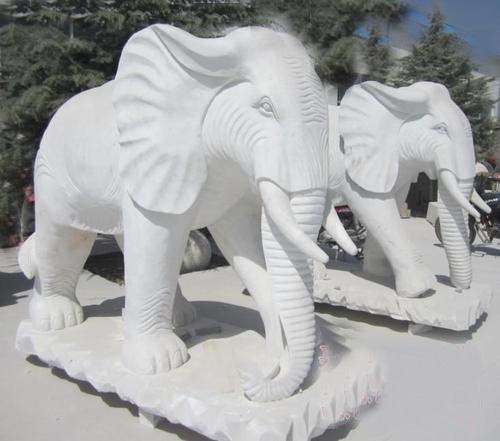 铜雕佛像曲阳鑫兰石雕石雕大象大理石雕刻